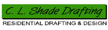 C. L. Shade Drafting Logo